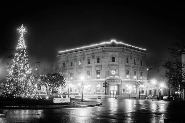 Photograph - Black And White Christmas by Dan Urban