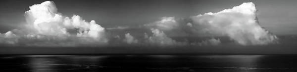 Wall Art - Photograph - Black And White Clouds - Panorama by Christopher Johnson