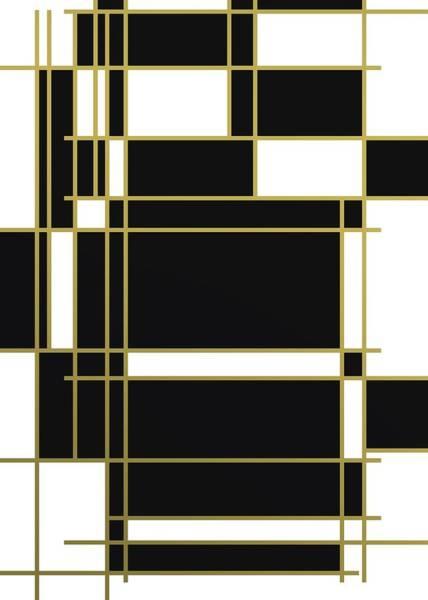 Digital Art - Black And White Composition by Alberto RuiZ