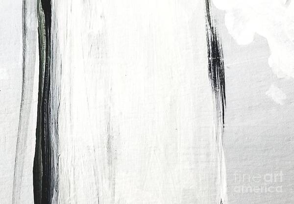 Painting - Black And White by Maria Langgle