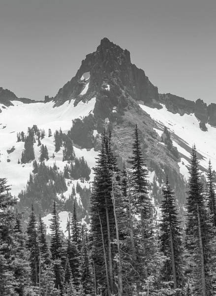 Photograph - Black And White North Cascades by Dan Sproul