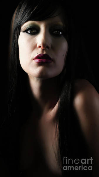 Photograph - Black Beauty by Robert WK Clark