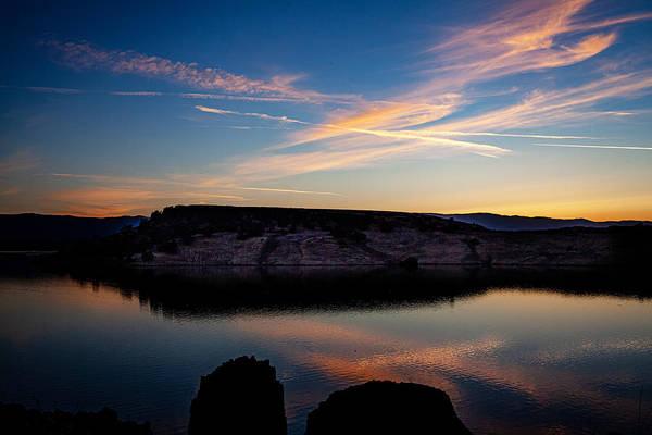 Photograph - Black Butte Lake Reflections by Flyinghorsedesigncom Photography