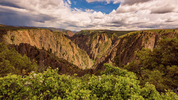 Photograph - Black Canyon Of The Gunnison by Brenda Jacobs