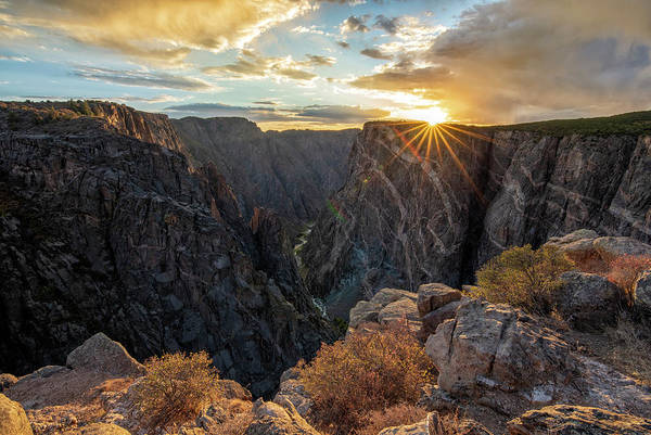 Photograph - Black Canyon Sendoff by Angela Moyer