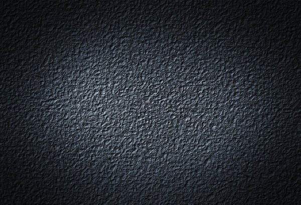 Material Photograph - Black Concrete by Loops7