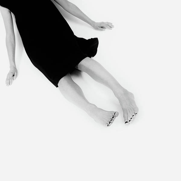 Photograph - Black Dress #9980 by Andrey Godyaykin