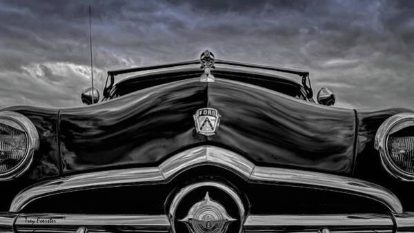 Wall Art - Digital Art - Black Ford by Trey Foerster