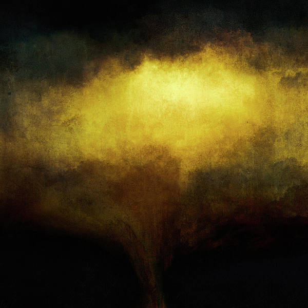 Wall Art - Painting - Black Gold by Lonnie Christopher