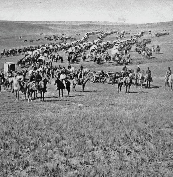 Horseback Photograph - Black Hills Expedition by Kean Collection