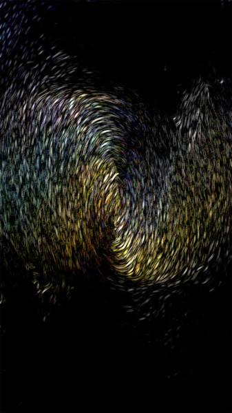 Mixed Media - Black Hole by Maria Reverberi
