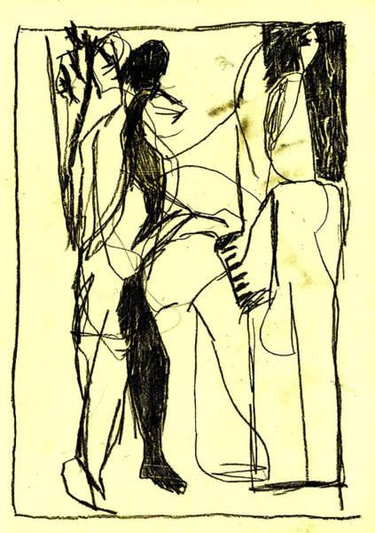 Digital Art - Black Ivory 1 Tinted Pencil 16 by Artist Dot