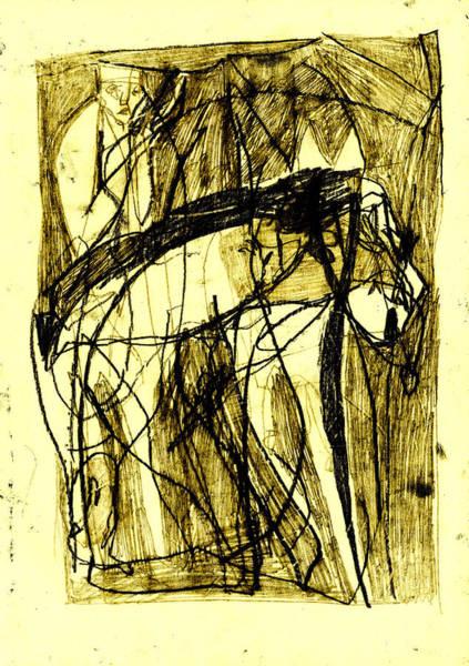 Digital Art - Black Ivory 1 Tinted Pencil 35 by Artist Dot