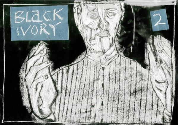 Digital Art - Black Ivory 2 Again by Artist Dot