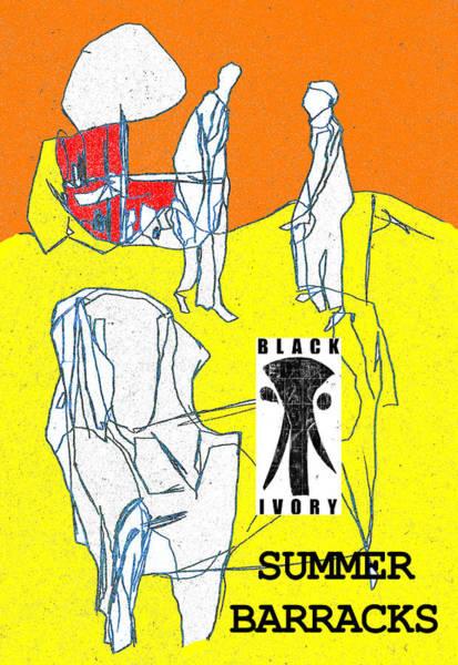 Digital Art - Black Ivory 2 Digital Pop Art 15 by Artist Dot
