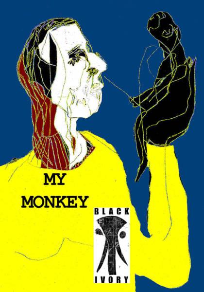 Digital Art - Black Ivory 2 Digital Pop Art 21 by Artist Dot