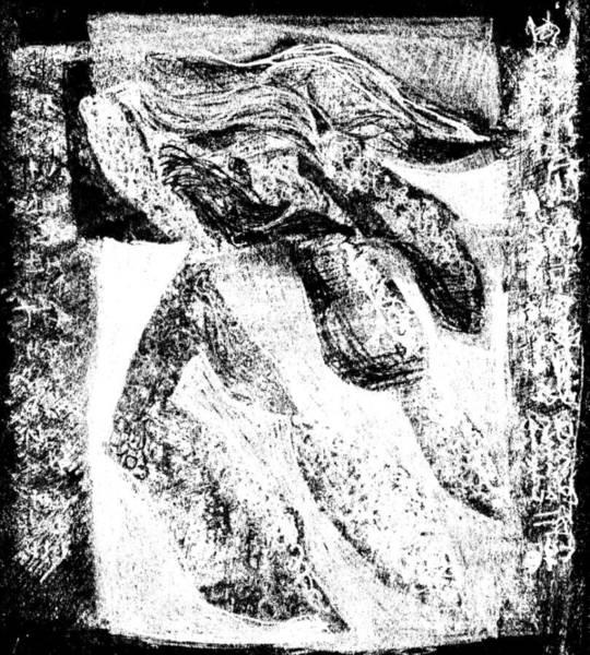 Drawing - Black Ivory Actual 1b1x by Artist Dot