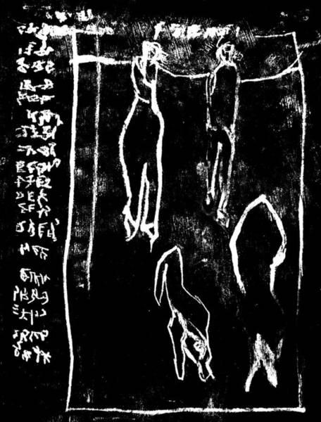 Drawing - Black Ivory Actual 1b78x by Artist Dot