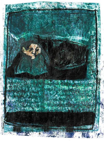 Drawing - Black Ivory Issue 1b72b by Artist Dot