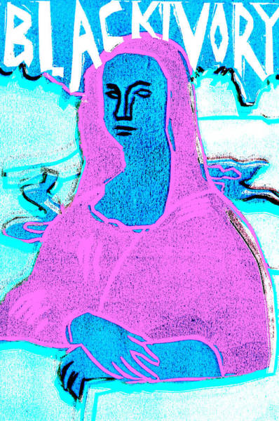 Relief - Black Ivory Mona Lisa 59 by Artist Dot