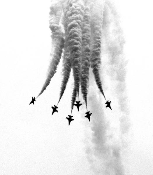 Aerobatics Wall Art - Photograph - Black Knights Perform At Singapore by Arjun Purkayastha ? Travel & Fine Art Photography ?