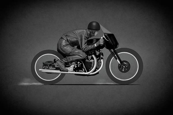 Photograph - Black Lightning Works Racing by Mark Rogan