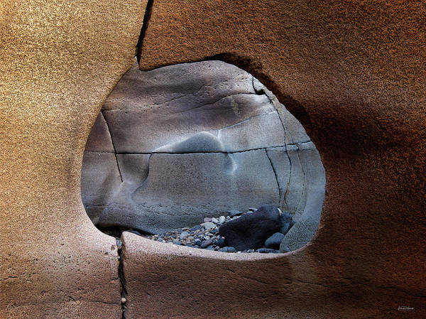 Basalt Photograph - Black Magic Canyon 1b by Leland D Howard