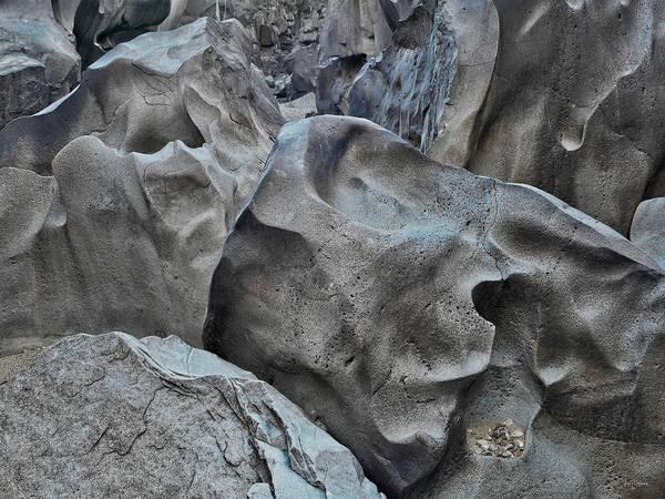 Basalt Photograph - Black Magic Canyon 5b by Leland D Howard