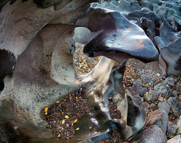 Photograph - Black Magic Canyon Sculpture by Leland D Howard