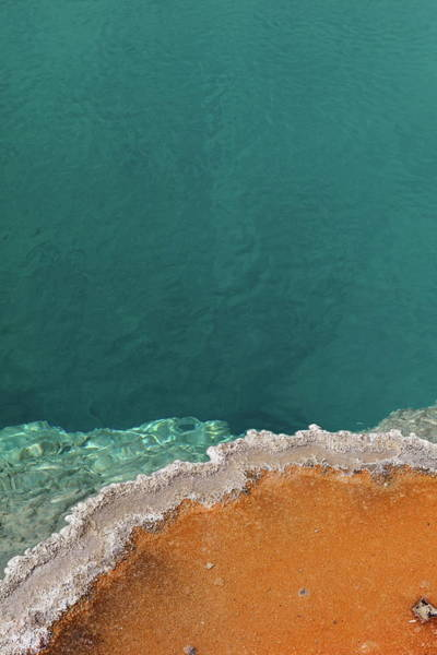 Geysers Photograph - Black Pool by Andreina Schoeberlein