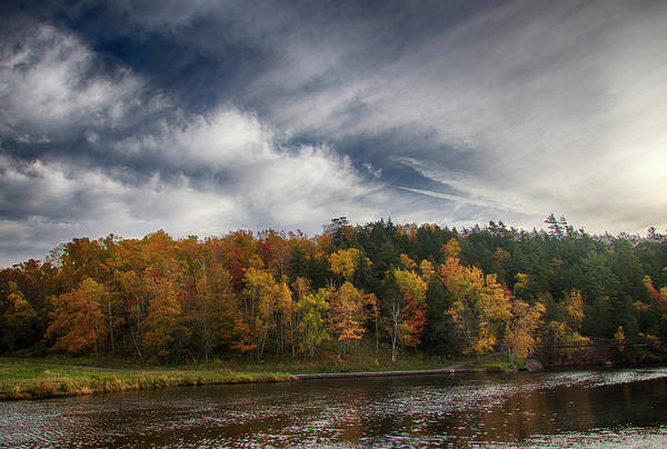 Photograph - Black River Harbor 10181701hdr by Rick Veldman