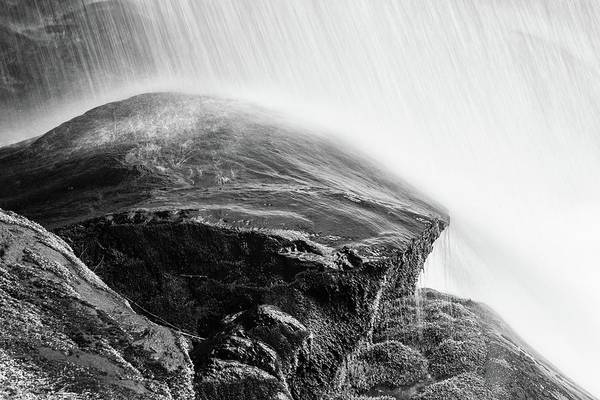 Photograph - Black Rock Under Dry Falls by Chris Buff