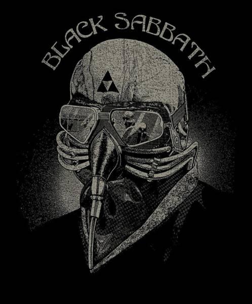 Wall Art - Digital Art - Black Sabbath  by Geek N Rock