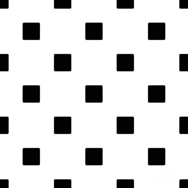 Black Squares On A White Background- Ddh574 Art Print