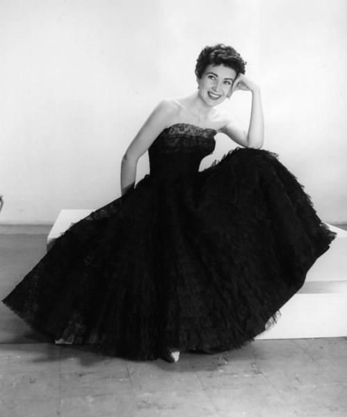 Evening Wear Photograph - Black Summer Dress by Kurt Hutton