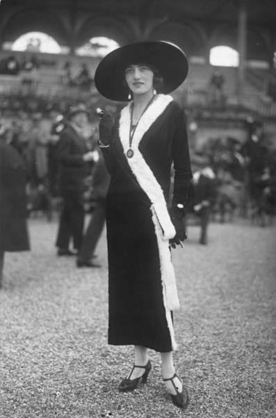 1923 Photograph - Black Velvet by Seeberger Freres