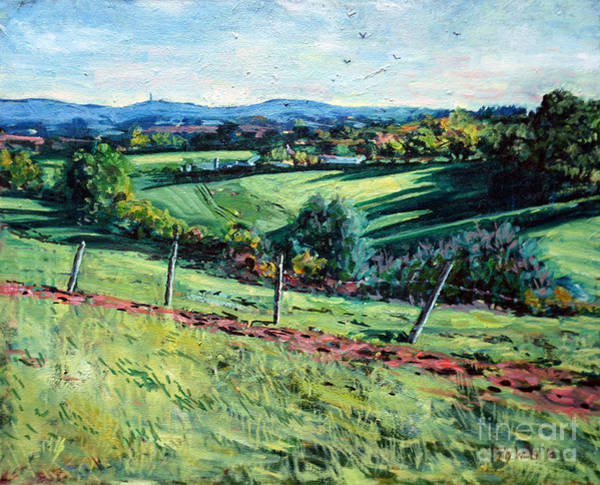 Wall Art - Painting - Blackdown View by Tilly Willis