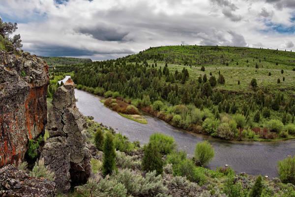 Photograph - Blackfoot River by Leland D Howard