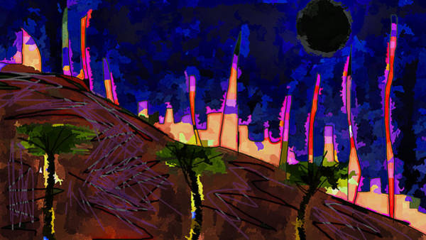 Drawing - Blackheart Sun Midnite  by Paul Sutcliffe