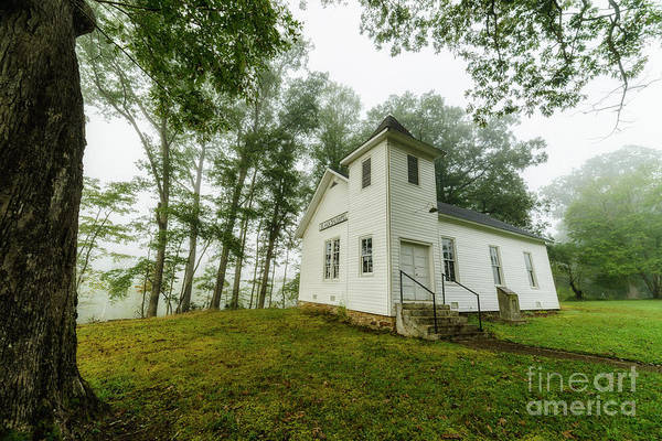 Photograph - Blacks Chapel Misty Morning by Thomas R Fletcher