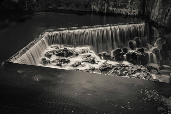 Photograph - Blackstone River I Pawtucket Toned by David Gordon