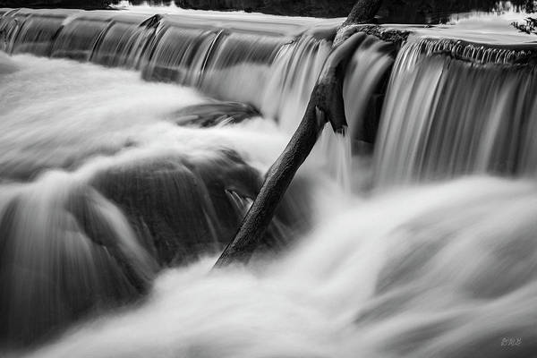 Photograph - Blackstone River Viii   Bw by David Gordon