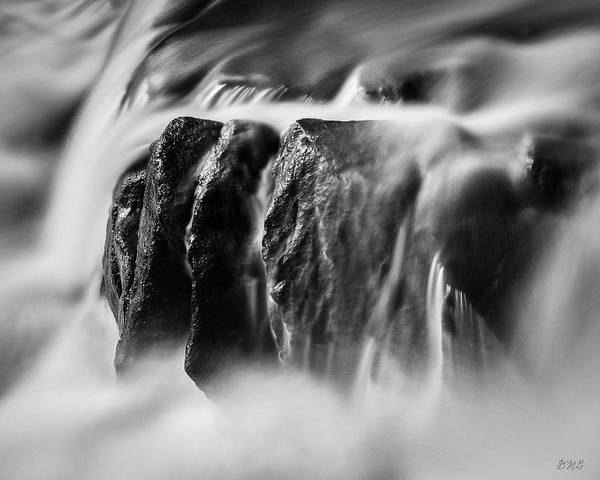 Photograph - Blackstone River Xiii  Bw by David Gordon