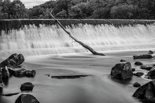 Photograph - Blackstone River Xv  Bw by David Gordon
