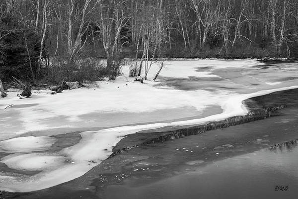 Photograph - Blackstone River Xxii Bw by David Gordon