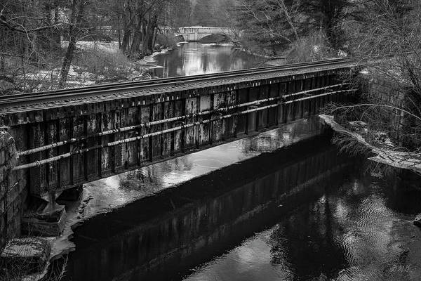Photograph - Blackstone River Xxiii Bw by David Gordon