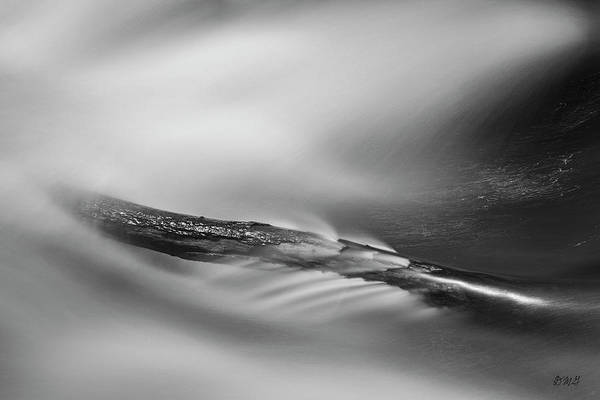 Photograph - Blackstone River Xxx Bw by David Gordon