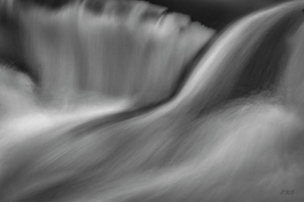 Photograph - Blackstone River Xxxiii Bw by David Gordon
