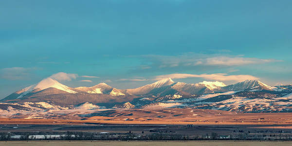 Photograph - Blacktail Mountains by Todd Klassy
