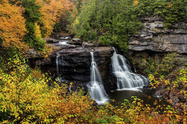 Wall Art - Photograph - Blackwater Falls In Autumn by Chuck Haney